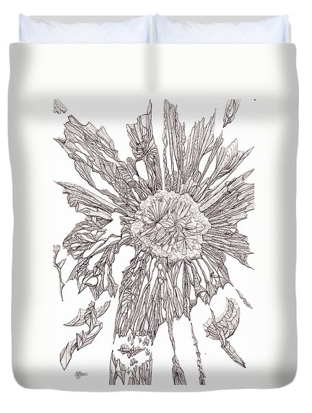 Breaking Free.    0111-1 Duvet Cover by Charles Cater