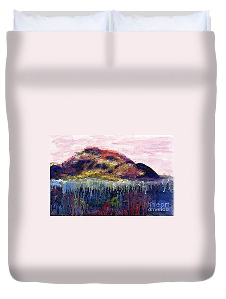 01252 Big Island Duvet Cover by AnneKarin Glass