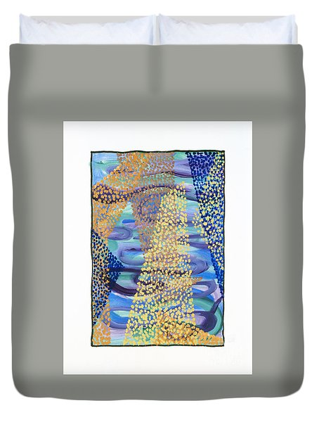 01331 Rise Duvet Cover by AnneKarin Glass