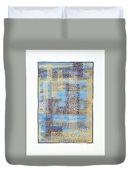 01334 Over Duvet Cover by AnneKarin Glass