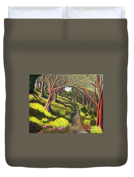 01350  Spring  Duvet Cover by AnneKarin Glass