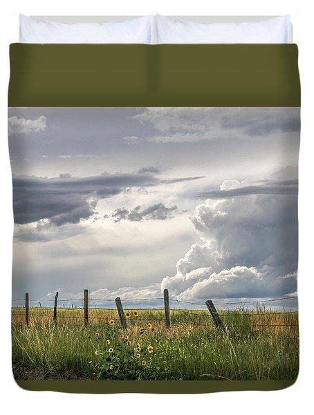 #0149 - Axtel Anceney, Southwest Montana Duvet Cover