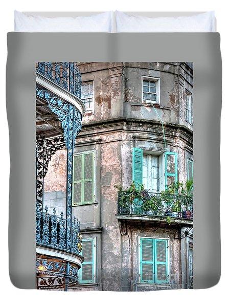 0254 French Quarter 10 - New Orleans Duvet Cover