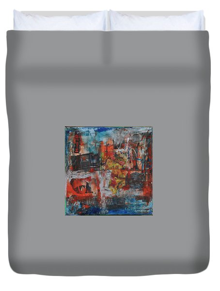 027 Abstract Thought Duvet Cover