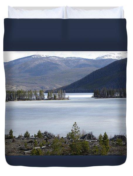 Granby Lake Rmnp Duvet Cover