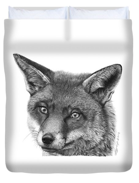 044 Vixie The Fox Duvet Cover