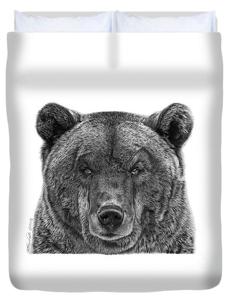 045 Papa Bear Duvet Cover