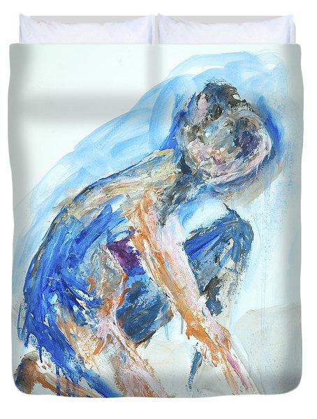 04955 Gardener Duvet Cover by AnneKarin Glass