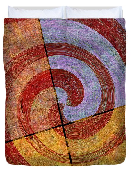 0581 Abstract Thought Duvet Cover