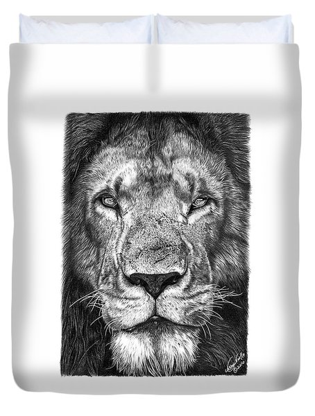 059 - Lorien The Lion Duvet Cover