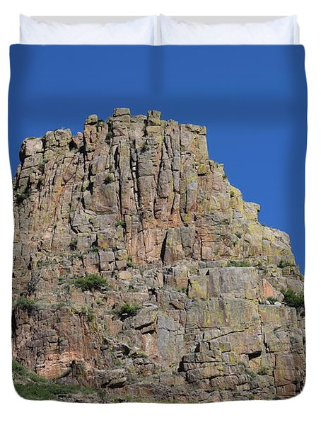 Mountain Scenery Hwy 14 Co Duvet Cover