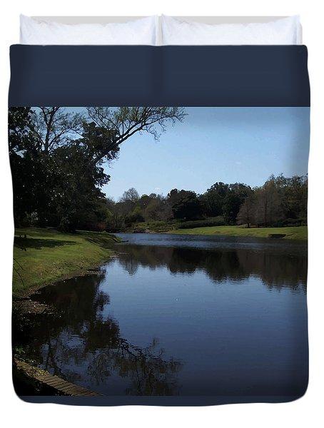 071115 Louisiana Bayou Duvet Cover