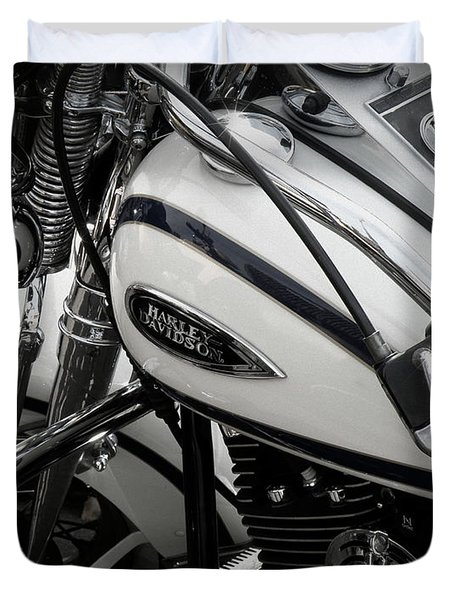 1 - Harley Davidson Series  Duvet Cover by Lainie Wrightson