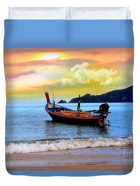 Thailand Duvet Cover by Mark Ashkenazi