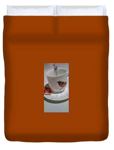 Kotori Means Bird Duvet Cover