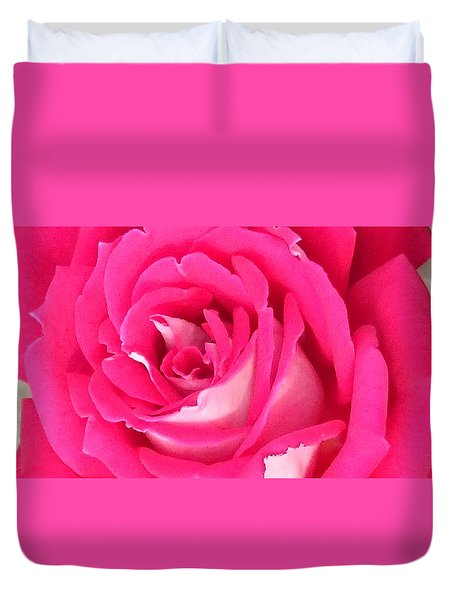 Bara Means Rose Duvet Cover