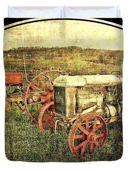 Vintage 1923 Fordson Tractors Duvet Cover