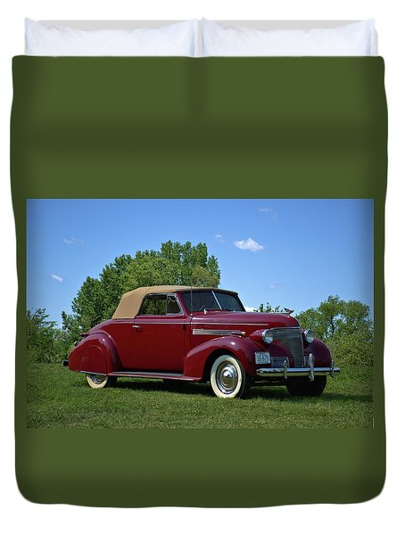 1939 Chevrolet Convertible Duvet Cover