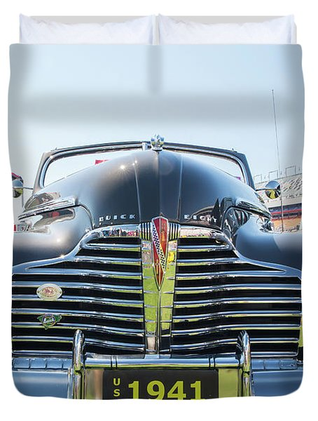 1941 Buick Convertible Duvet Cover