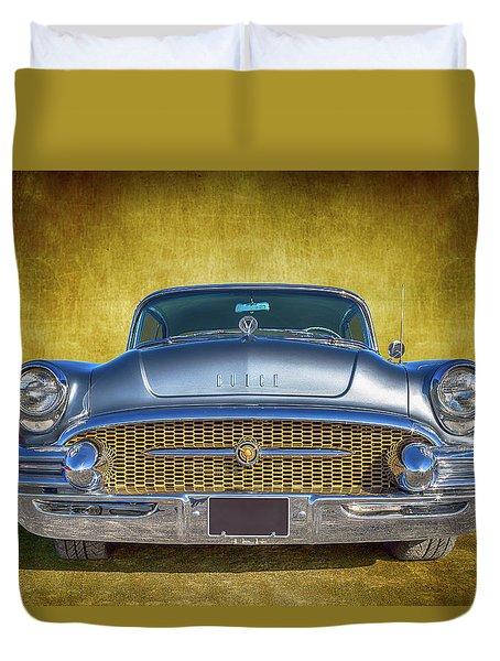 1955 Buick Duvet Cover