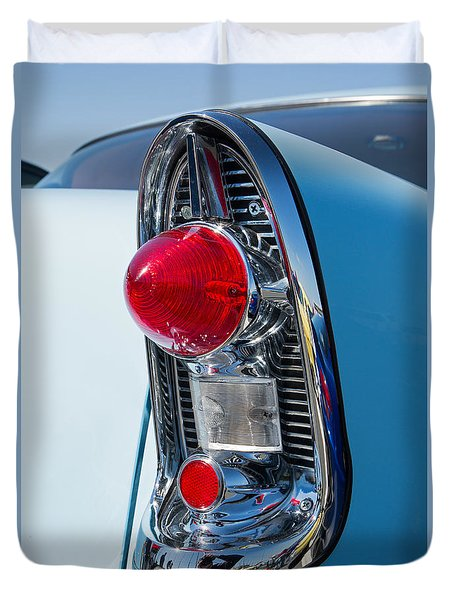 1956 Chevy Bel Air Duvet Cover