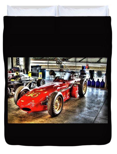 1961 Elder Indy Racing Special Duvet Cover
