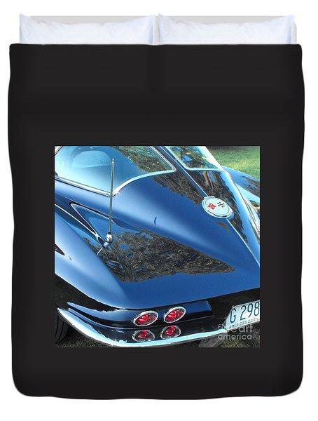 1963 Corvette Duvet Cover