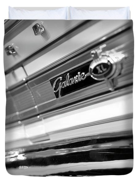 1964 Ford Galaxie 500 Xl Duvet Cover by Gordon Dean II