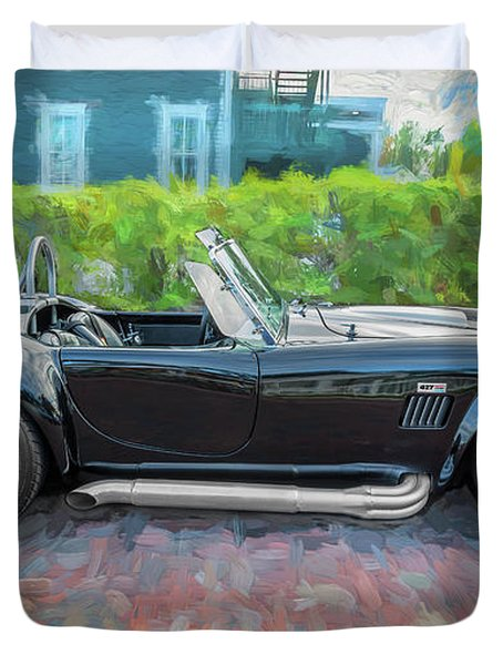 1965 Ford Ac Cobra Painted    Duvet Cover