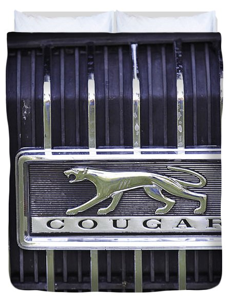 1968 Cougar Duvet Cover