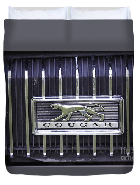 1968 Cougar Duvet Cover