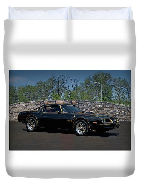 1978 Pontiac Trans Am Duvet Cover