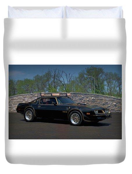 1978 Pontiac Trans Am Duvet Cover