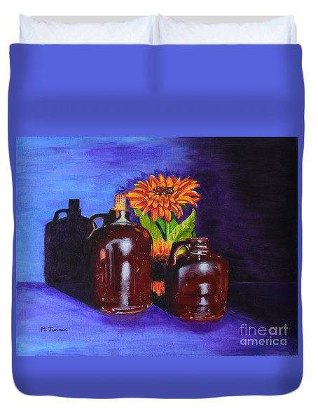 2 Old Jugs Duvet Cover