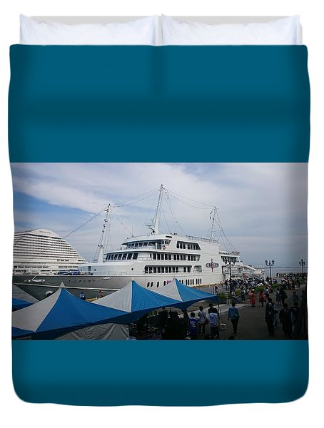 Port City Duvet Cover