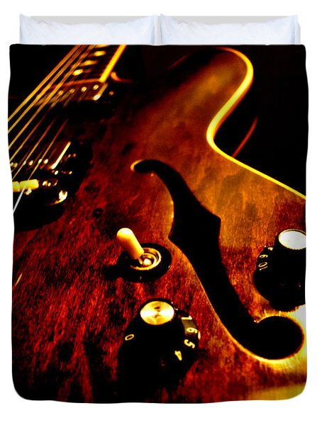 '68 Gibson Duvet Cover