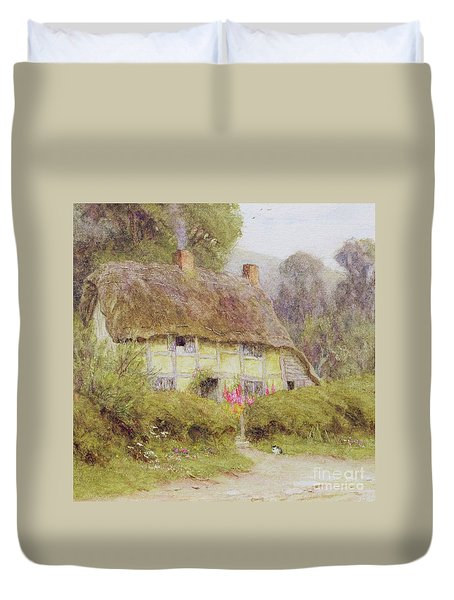 A Country Cottage Duvet Cover