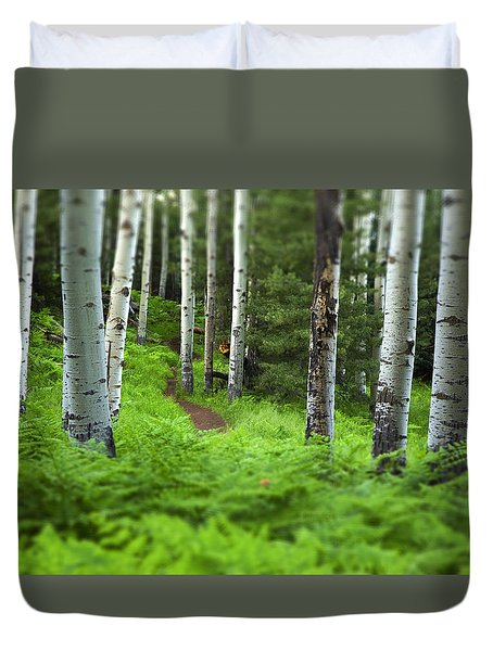 A Magic Place Duvet Cover by Sue Cullumber