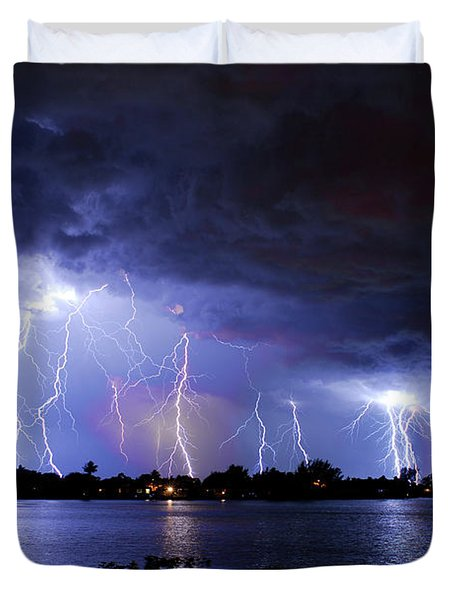 A Magical Night Duvet Cover