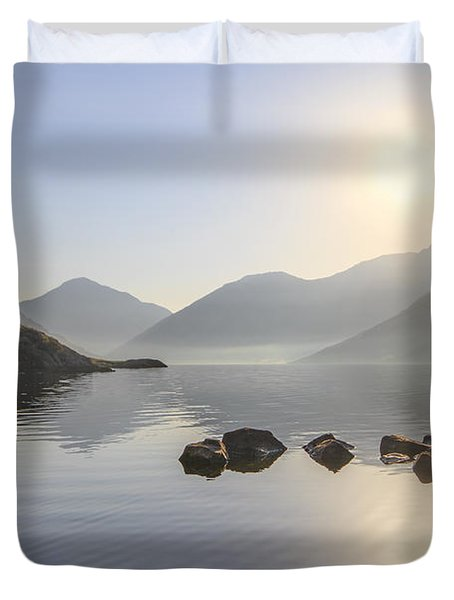 A Place Called Morning Duvet Cover
