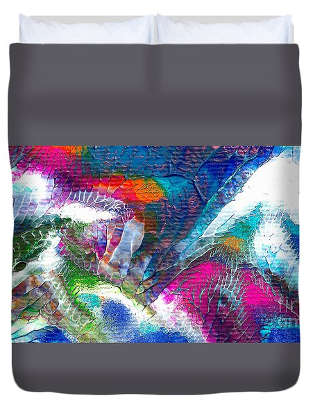 Abstract 10115a Duvet Cover