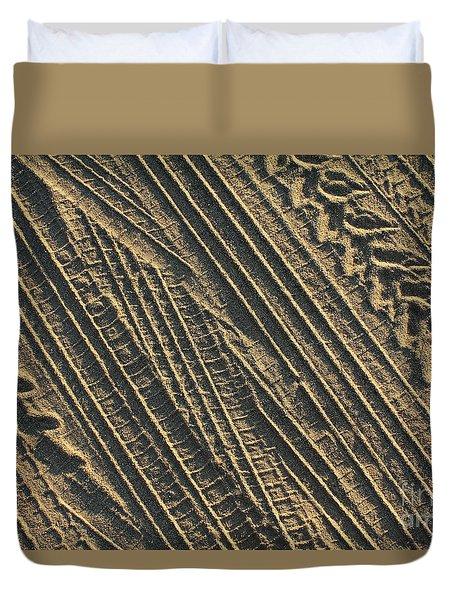Abstract 18 Duvet Cover by Tony Cordoza