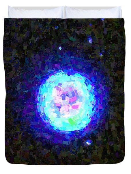 Abstract Nebulla With Galactic Cosmic Cloud 42 Sphere 2 Duvet Cover