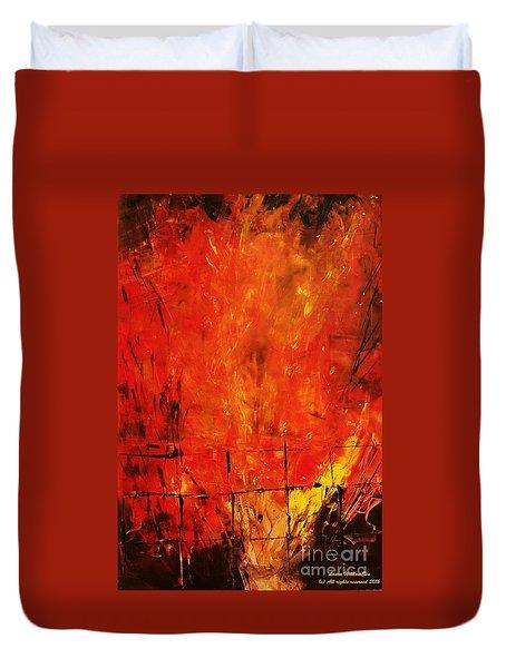 Acrylics Duvet Cover
