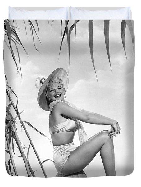 Actress Barbara Nichols Duvet Cover