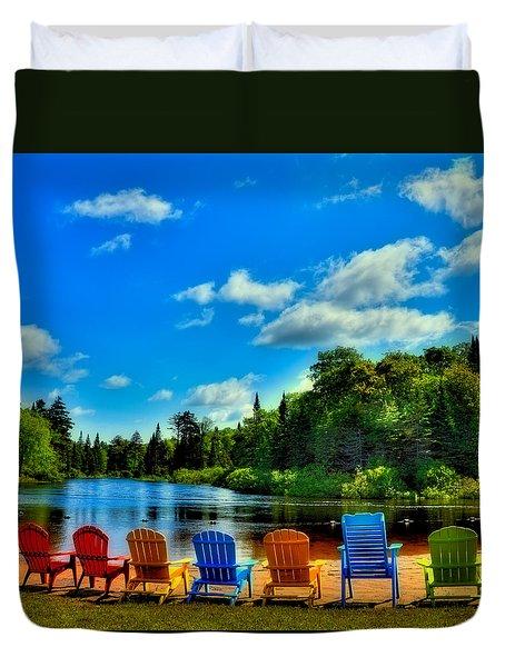 Adirondack Calm Duvet Cover