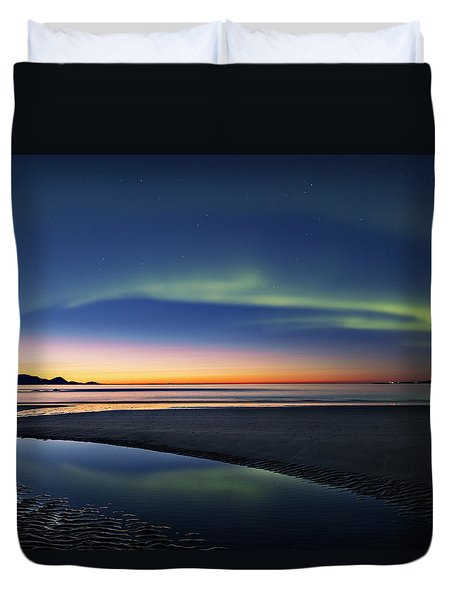 After Sunset II Duvet Cover