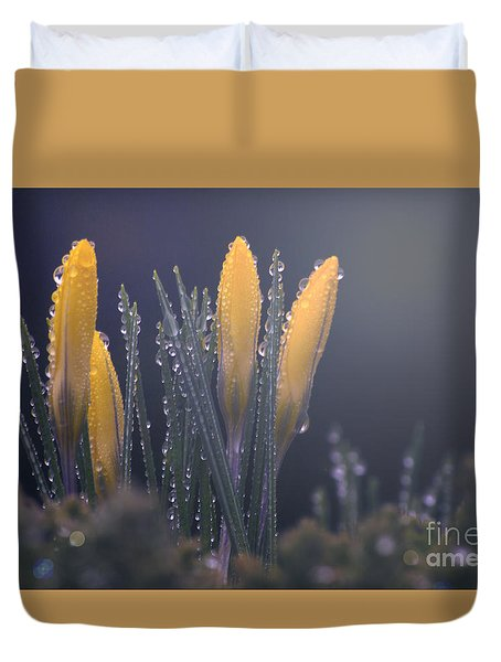 Promise Duvet Cover by Rima Biswas