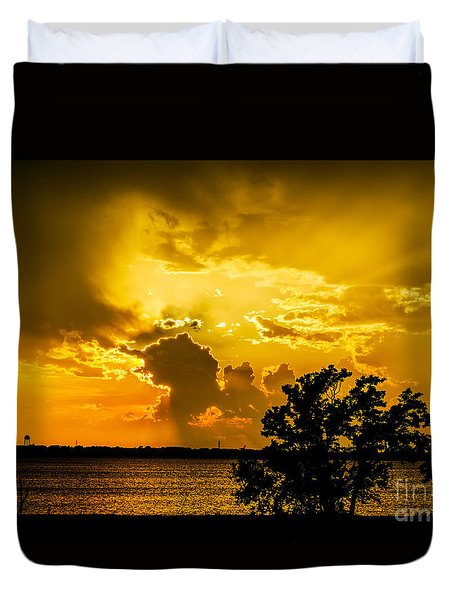 Duvet Cover featuring the photograph After The Storm by Betty LaRue