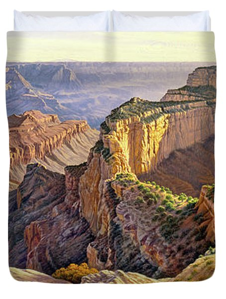 Afternoon-north Rim Duvet Cover